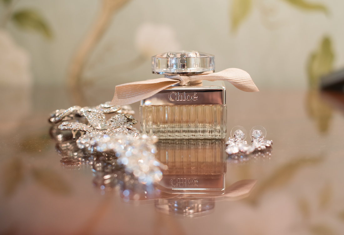 chloé perfume wedding day