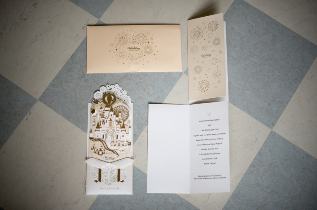 luttrellstown castle wedding photos by the fennells-invitations