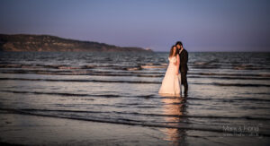 Trash The Dress in Dublin Bay wedding photographers