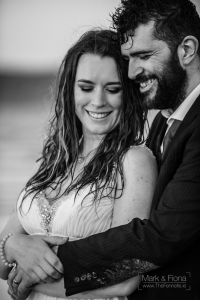Trash The Dress in Dublin Bay engagement photography