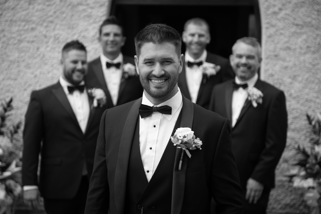 radisson blu wedding groomsmen