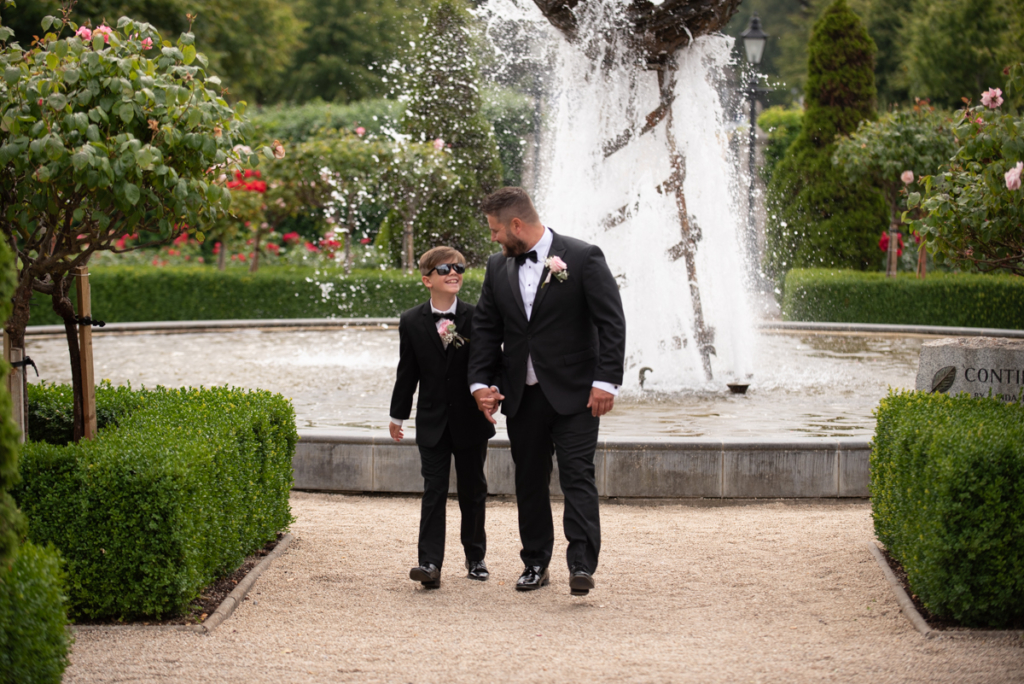 radisson blu wedding groom and pageboy