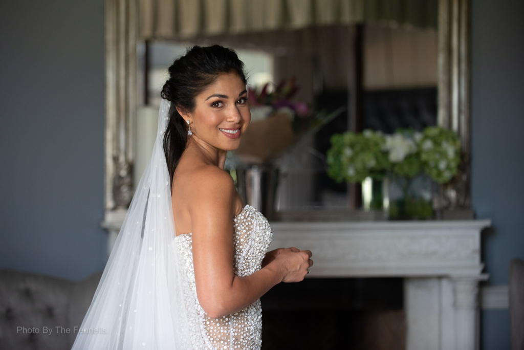 Sarah Roberts ready for her home and away wedding
