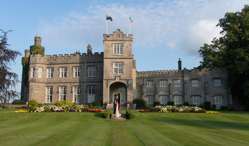 Luttrellstown Castle photo by wedding photographers The Fennells
