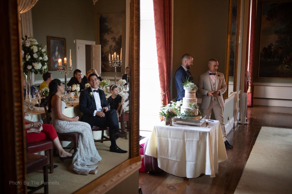Sarah Roberts brother giving his wedding speech at their wedding