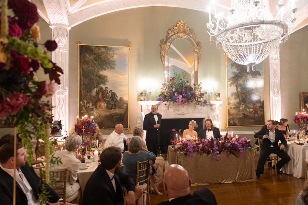 Father of the Bride speech at Luttrellstown Castle
