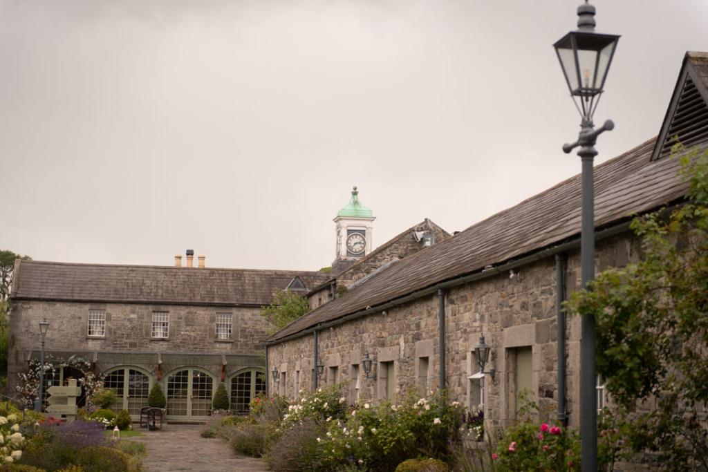 Ballymagarvey village courtyard in summer