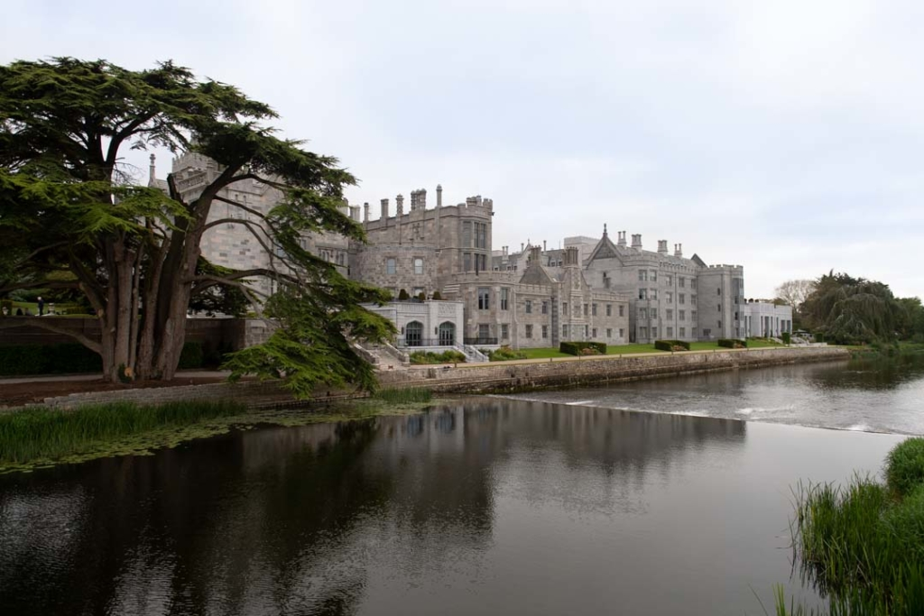 The river in front of the Adare Manor Hotel