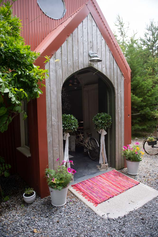 The entrance to the Tin Chapel at Mount Druid