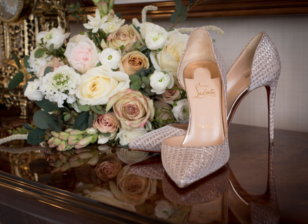 Brides Christian Louboutin shoes