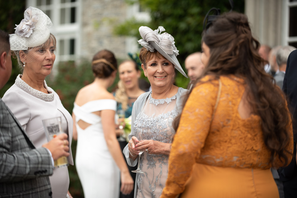 Guests at the Ireland Castle wedding
